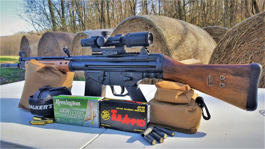 Century Arms C308 with Trijicon 1.4x accupower Remington Premier Match Walkers and TulAmmo